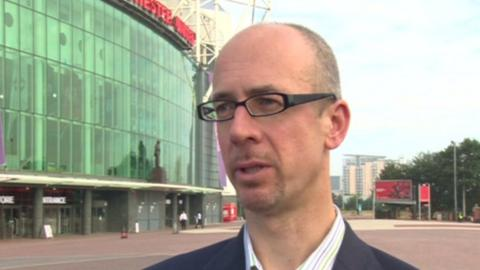 Duncan Drasdo, Chief Executive of the Manchester United Supporters Trust