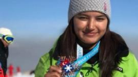 Aanchal Thakur with her medal