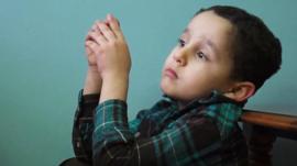 Refugee child in Pennsylvania