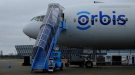 Orbis Flying Eye Hospital jet plane